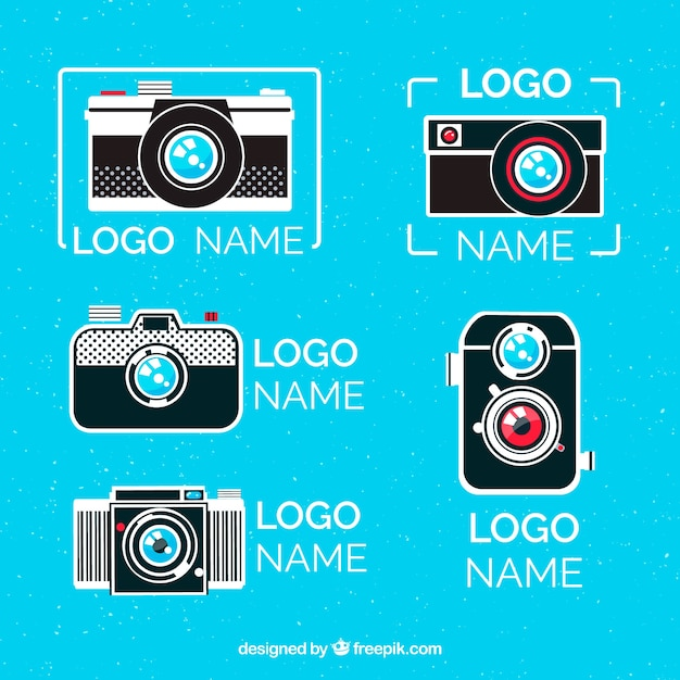 Camera logo collection