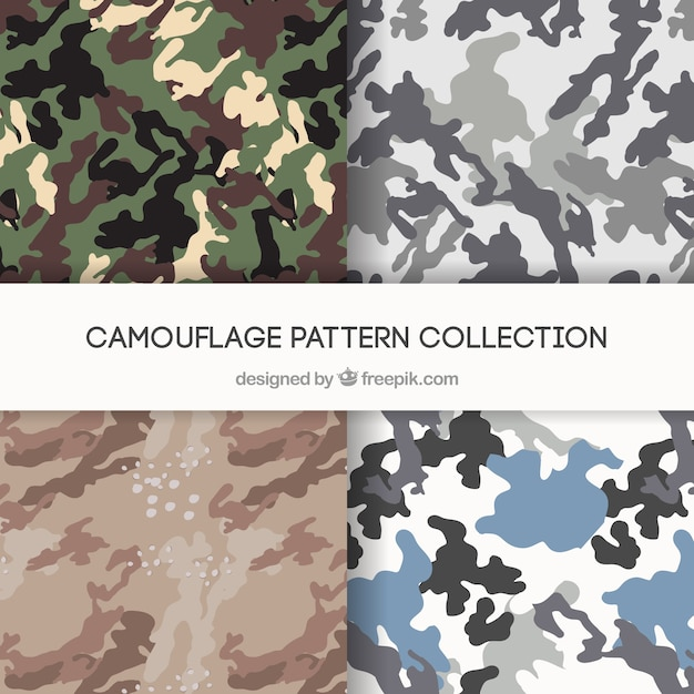 Camo Patterns Vectors Vector Free Download Gorgeous Camo Patterns