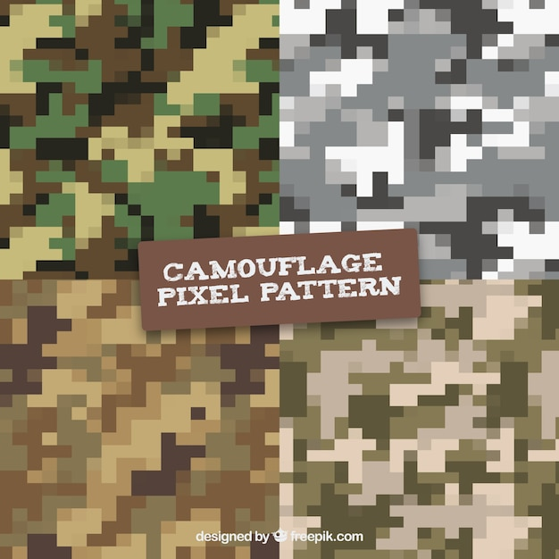 camouflage digital pixilated vector patterns vector free download rh freepik com green digital camo vector digital camo vector file