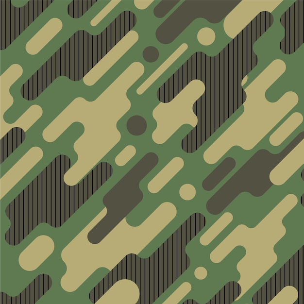 Camouflage pattern background Free Vector