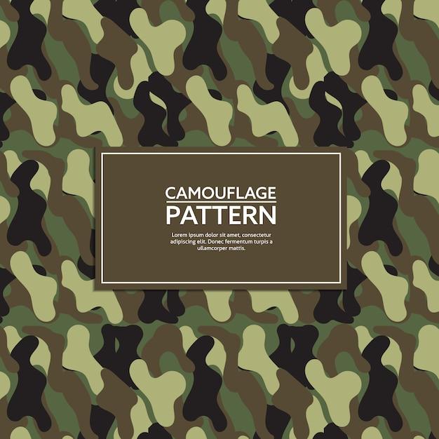 Camouflage pattern Premium Vector