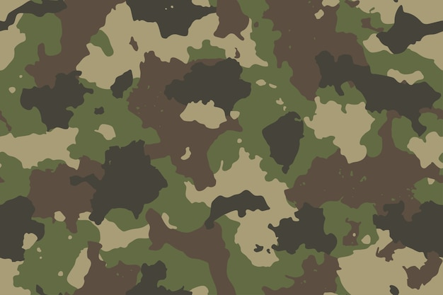 Camouflage seamless pattern with canvas mesh. trendy style camo, repeat print. Premium Vector
