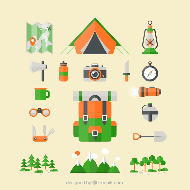 Camping Vectors, Photos and PSD files | Free Download