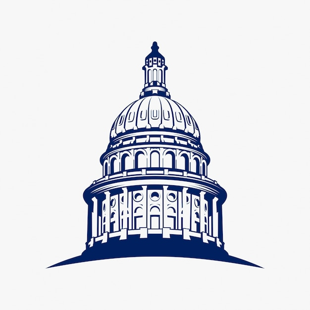 capitol vectors photos and psd files free download rh freepik com state capitol building vector us capitol building vector