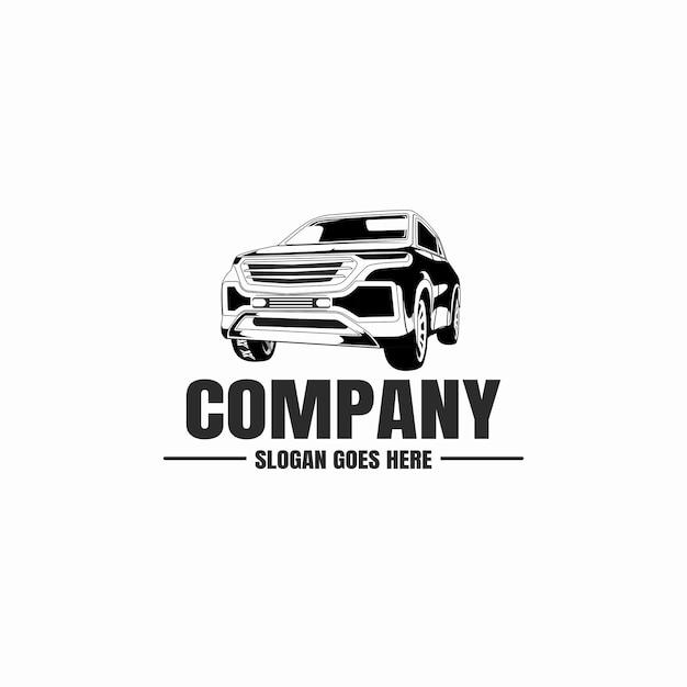 Логотип автомобильной промышленности Premium векторы
