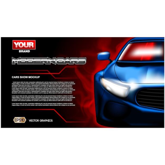 car background design free vector