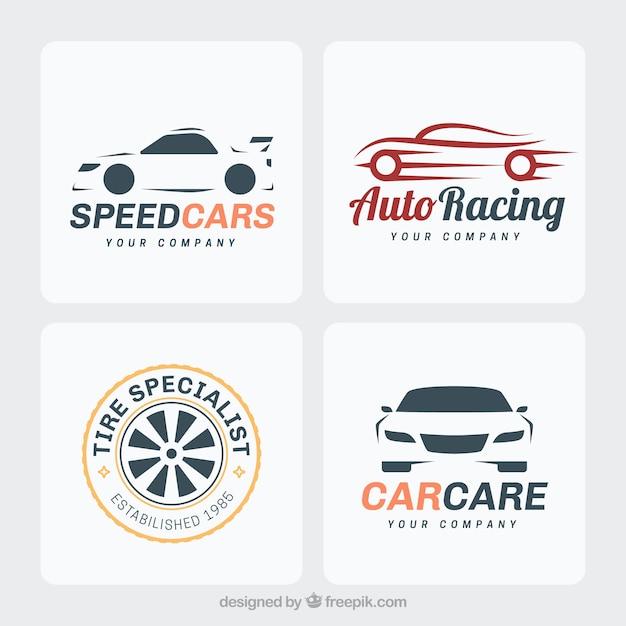 Car logo set Free Vector