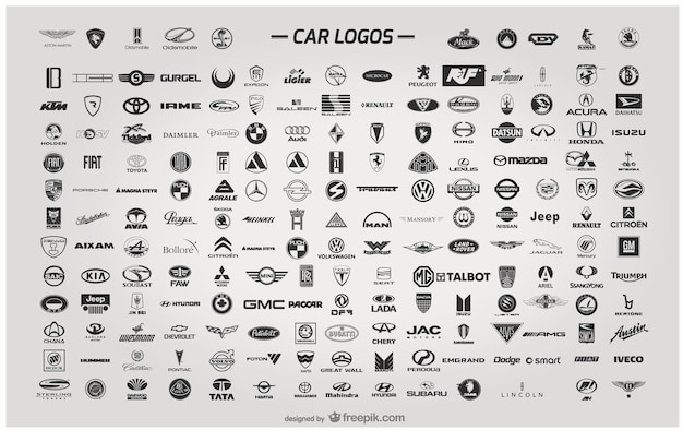Car Logos Vector Free Download