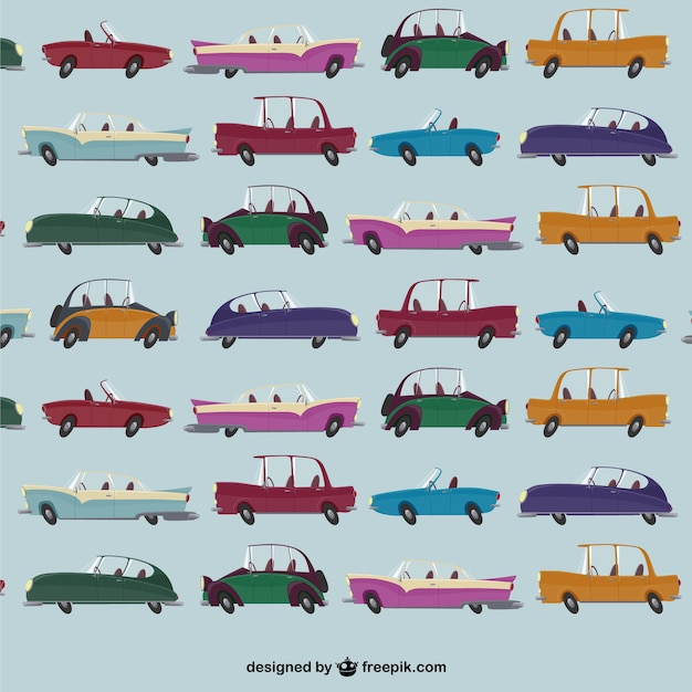 car pattern vector vector free download