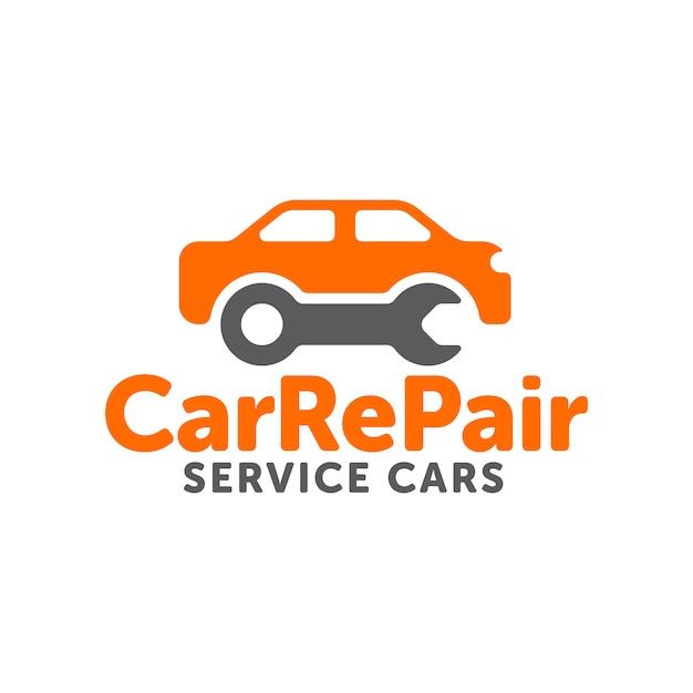 car repair logo vector premium download rh freepik com car repair logo design car repair logo ideas