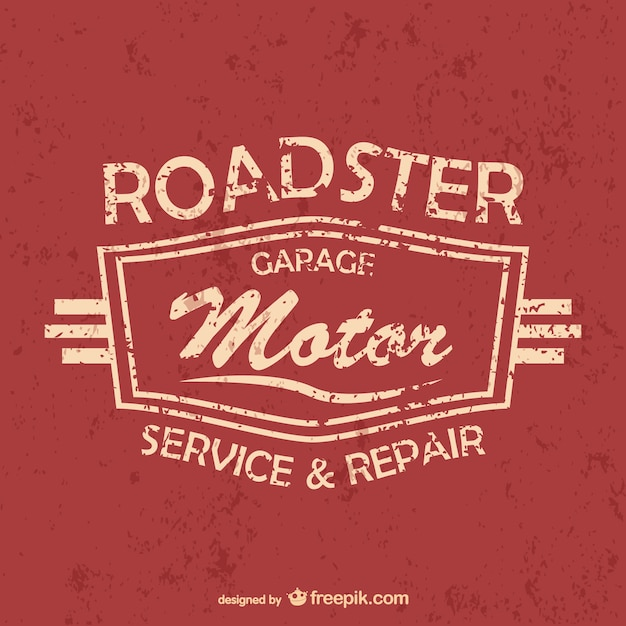 Car services and repair poster Free Vector