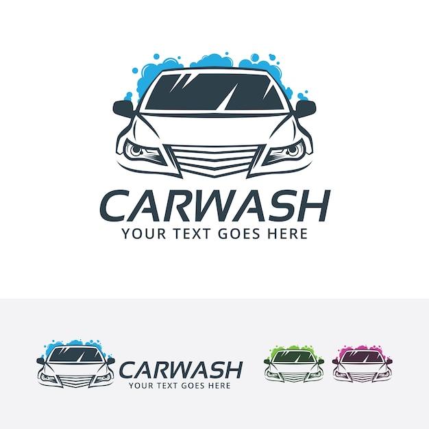 car wash center vector logo template vector premium download