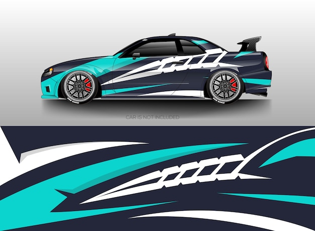 Car Wrap Designs Vector Vector Premium Download
