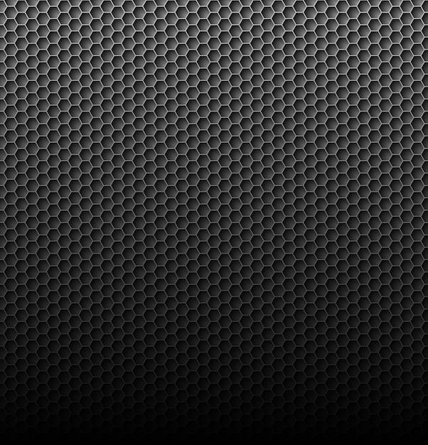 Carbon background Premium Vector