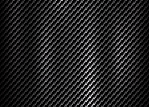 Carbon kevlar fiber pattern texture background Premium Vector