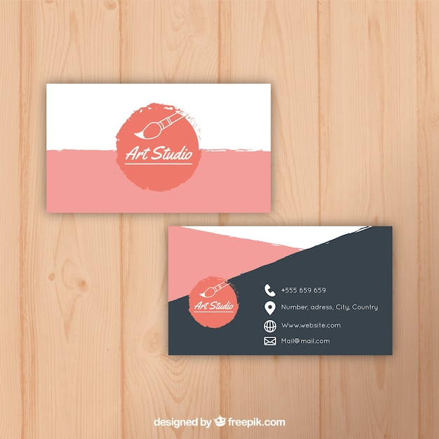 80 Best Free Business Card Psd Templates
