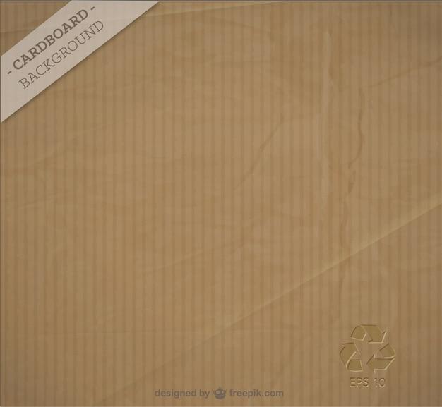 Cardboard background Premium Vector