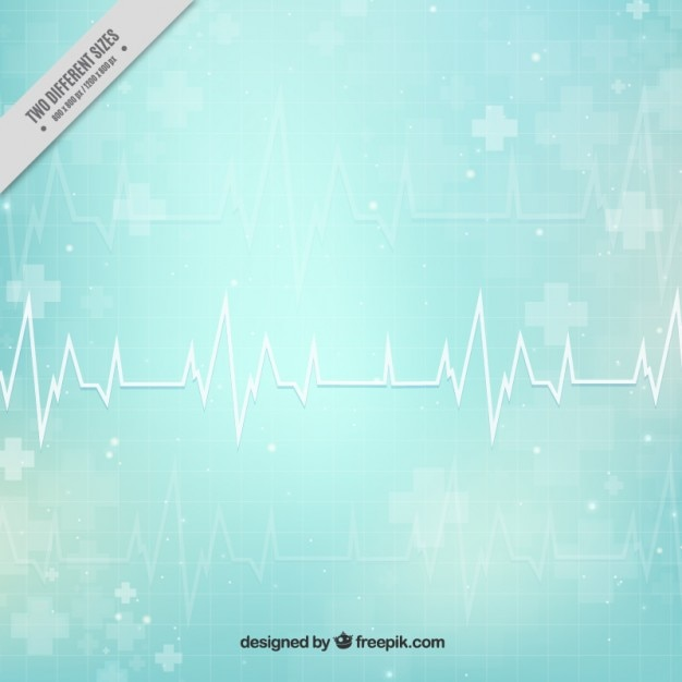 Cardiogram abstract medical background Free Vector