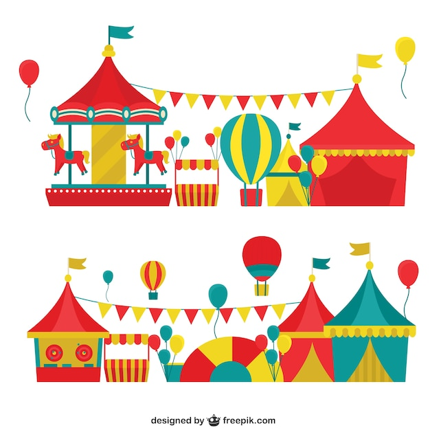 carnival pack vector free download