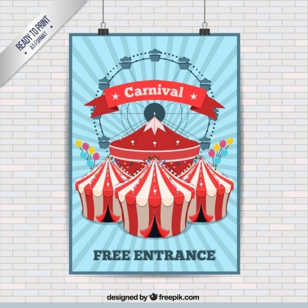 Carnival Poster Vectors, Photos and PSD files | Free Download