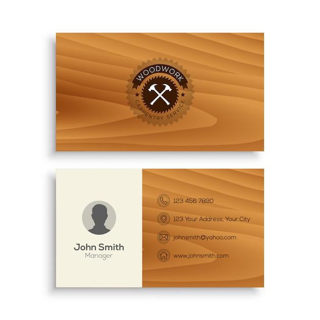 Carpentry business card template vector premium download carpentry business card template premium vector fbccfo Choice Image