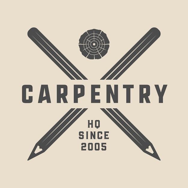 Carpentry Premium Vector