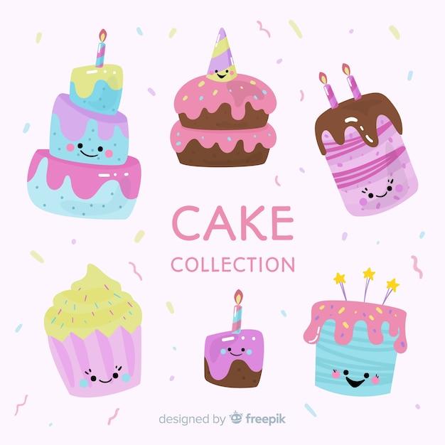 Birthday Cake Cartoon Vectors Photos And PSD Files