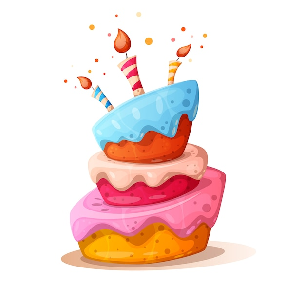 Birthday Cake Cartoon Images Free Vectors Stock Photos Psd