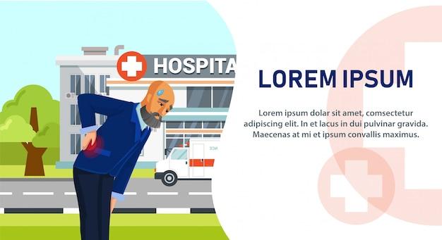 Cartoon Character Going To Hospital Vector Premium Download
