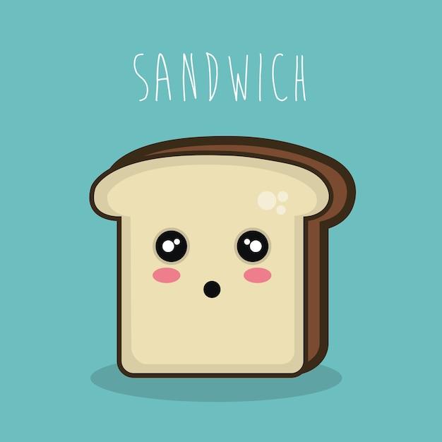 premium vector cartoon character sandwich icon https www freepik com profile preagreement getstarted 2252823