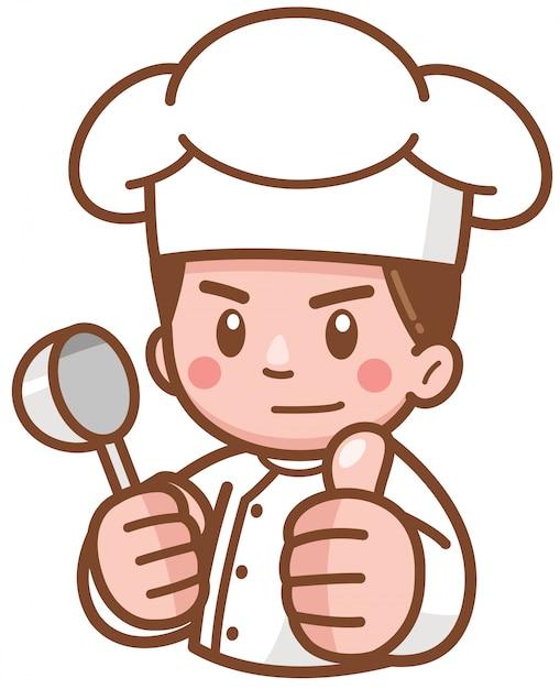 Premium Vector   Cartoon chef