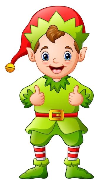 christmas elf cartoon images