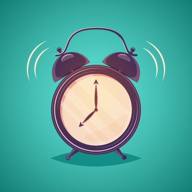 Cartoon clock Vector | Free Download