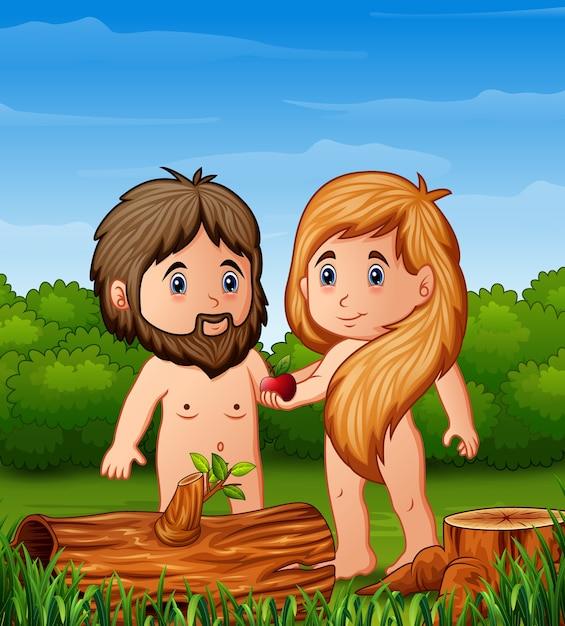 林檎 イヴ アダム と