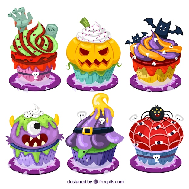 cartoon halloween cupcakes vector free download clip art cupcake images clip art pancake breakfast