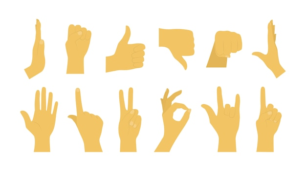 hand signs meaning