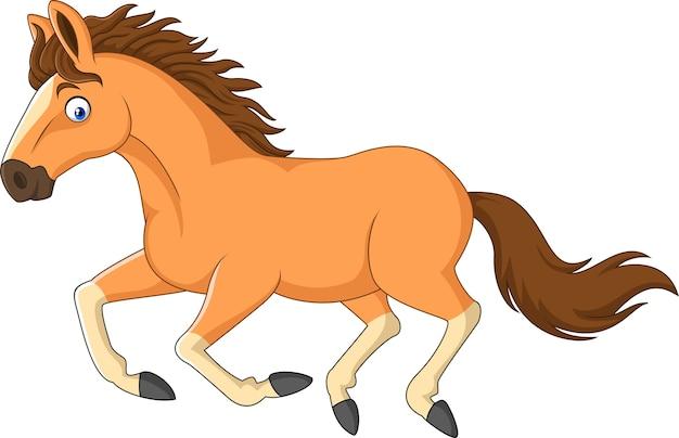 Cartoon horse running isolated on white background vector premium cartoon horse running isolated on white background premium vector publicscrutiny Choice Image
