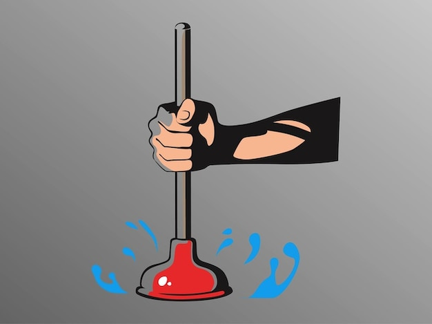 Cartoon Household Plunger Vector Pack Vector Free Download