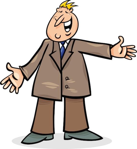 cartoon man in suit vector premium download rh freepik com cartoon man in white suit cartoon man in black suit