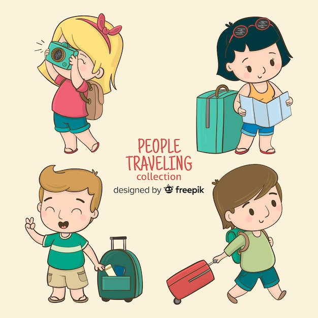 Travel Cartoon Images Free Vectors Stock Photos Psd