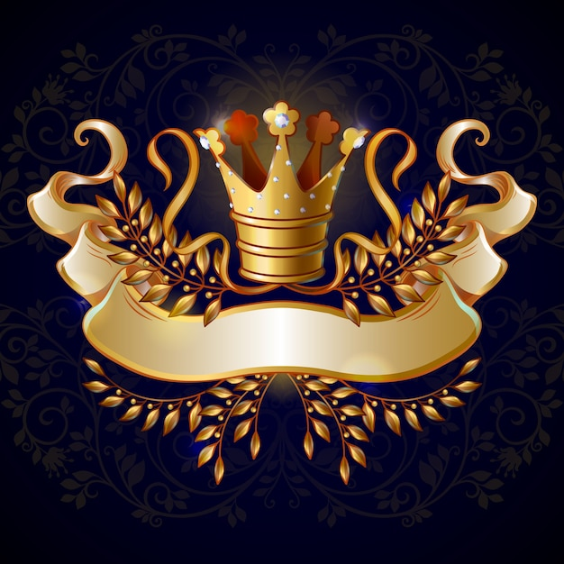 Free Vector Cartoon Royal Gold Crown Template Pngtree offers cartoon crown png and vector images, as well as transparant background cartoon crown clipart images and psd files. vector cartoon royal gold crown template