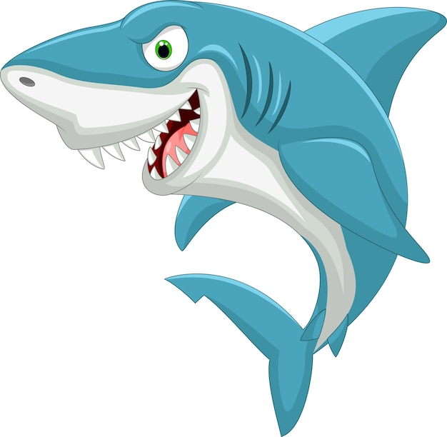 Cartoon shark Vector | Premium Download