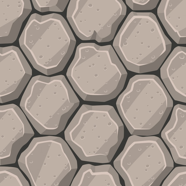 Cartoon style stone texture
