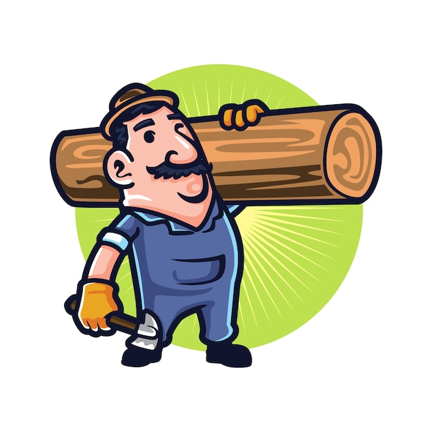 Premium Vector Cartoon Tree Cuting And Hauling Guy We believe in helping you find the product that is right for you. https www freepik com profile preagreement getstarted 8117148
