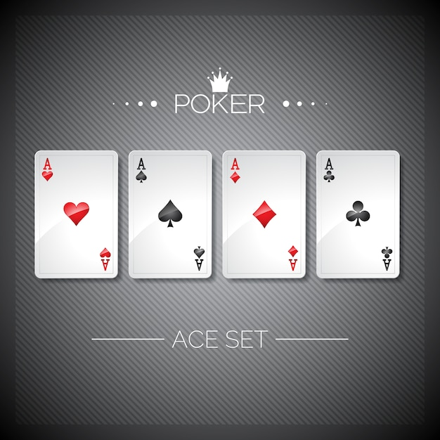 Casino background design Free Vector