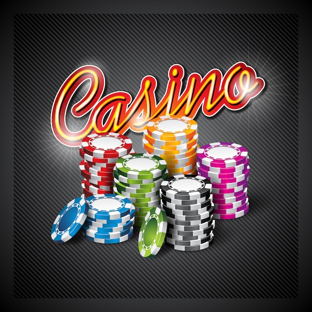 casino background design vector free download