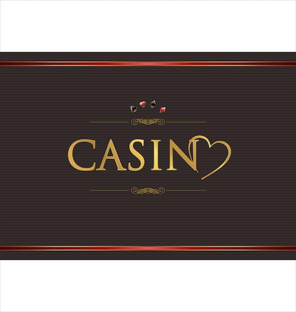 Casino background Premium Vector