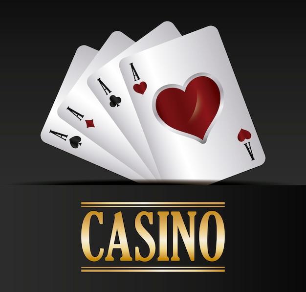 Концепция казино Бесплатные векторы