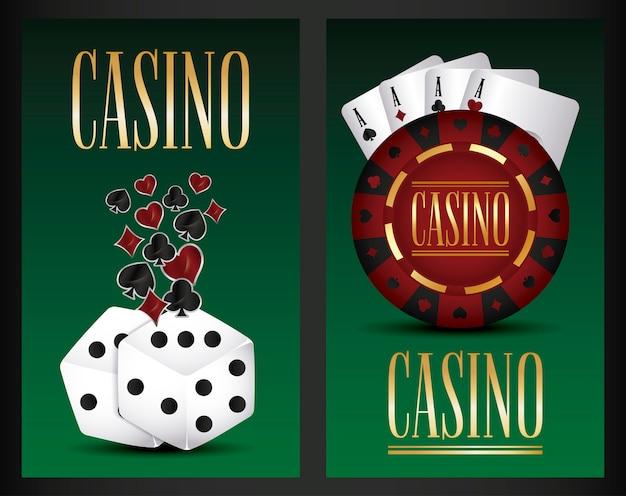 Игра казино Бесплатные векторы