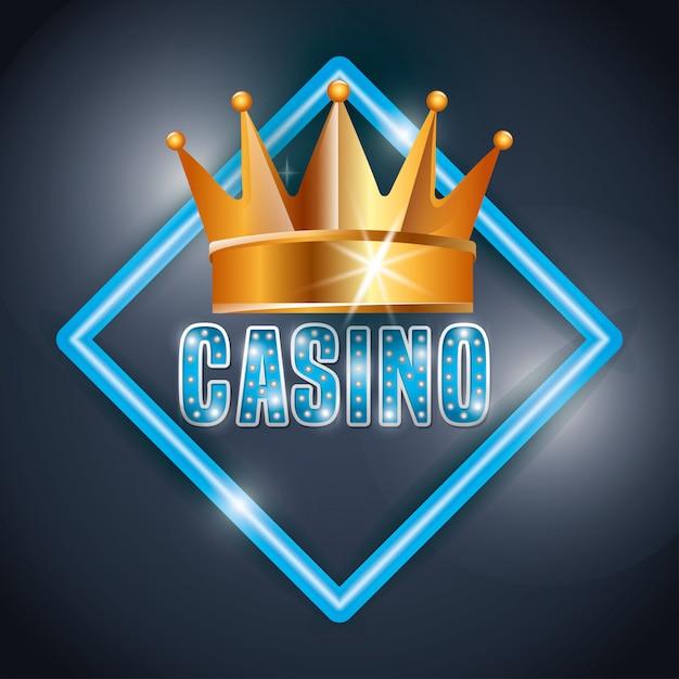 Casino games design Free Vector